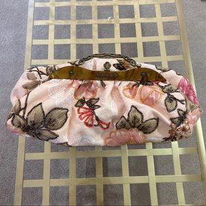 Floral Beaded Handbag